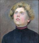 Antonin Majer - Portrait of girl