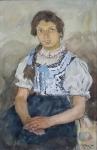 Frantisek Hlavica - Peasant girl