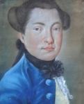 Rococo portrait of a man
