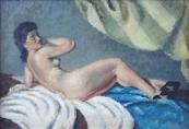 Karel Skala - Reclining Nude