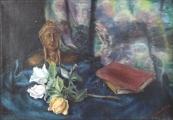 Z. Sobotova - Still Life with a bust of Dante