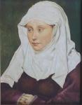 Robert Campin - Portrait of woman a copy