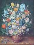 Jan Brueghel - Floral still lifes, copy