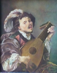 Hendrick Ter Brugghen - Lute player, copy