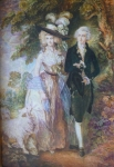 Thomas Gainsborough - Morning Walk, copy