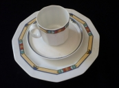 Cup and saucer and dessert plate - Rosenthal