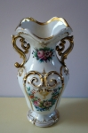 The vase in the second rococo style - Bohemia