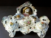 Inkwell with angels - Italy