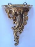 Larger gilded carved console