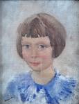 Vaclav Koutsky - Portrait of  little girl