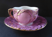 Cup and saucer - Tabor 1902