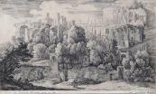 Hermann van Swanevelt - Ruins of ancient amphithea