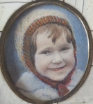 Miniature - Child in the cap