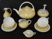 Design porcelain service - Manka Franz, Alt Rohlau