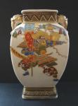 Chinese vase with samurai