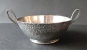 Art Nouveau pewter bowl - Orivit
