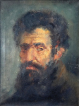 Jan Kudlacek - Portrait of Michelangelo Buonarroti