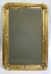 Gold-plated mirror from the second Rococo period