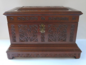Large box with embossed cut ornament