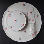 Tray of plates and blades - J. Lenharts Erben, Altrohlau