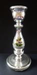 Amalgam glass candlestick