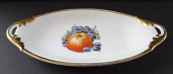 Oval bowl with fruit - Neu Rohlau