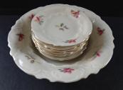 Bowl and six small plates - Alt Rohlau