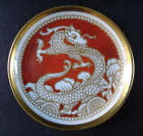 Small bowl with dragon - Rosenthal