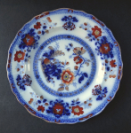 Little plate with flowers - Shiras, Davenport