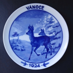 Christmas plate from 1924 - Rosenthal