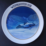 Christmas plate from 1928 - Rosenthal