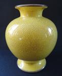 Yellow ceramic vase - Rosenthal