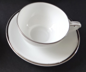 Coffee cup with platinum line - Pirkenhammer