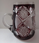Cut Ruby Jug - Monogram A. H.