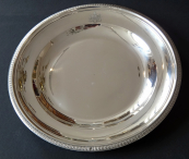 Round Silver Empire Plate - France 1809 - 1819