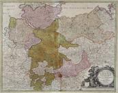 Johann Baptista Homann - Map of Saxony