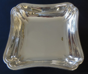 Square silver bowl - France 1840 - 1860