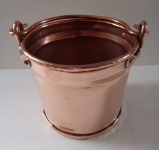 Copper small bucket