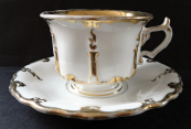 Cup with saucer - Klösterle 1888