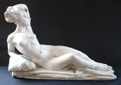 Lying nude girls - Frantisek Kolar