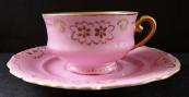 Pink gilded cup - Pirkenhammer