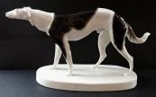 Ceramic statuette Borzoi - Goldscheider