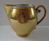 Porcelain gilded milk jug - Pirkenhammer