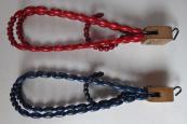 Wooden clothes hangers, with beads - Art deko