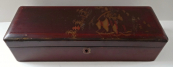 Oblong Chinese lacquer box