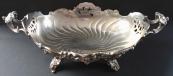 Silver bowl in Rococo style