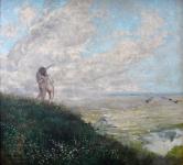 Ferdinand Engelmüller - Lovers looking into the landscape