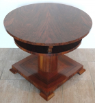 Round table - art deco style