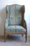 Armchair Classicist style - the style of Louis XVI.
