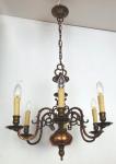 Smaller Dutch-type chandelier